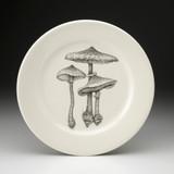 Dinner Plate: Parasol #4 Mushroom