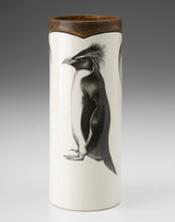 Small Vase: Rockhopper Penguin