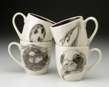 Set of 4 Mugs: Quail #2