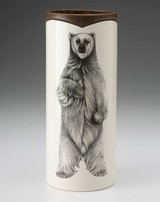 Large Vase: Standing Bear