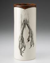 Large Vase: Quail Feet