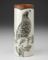 Small Vase: Quail #1
