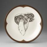 Small Round Platter: Milk Cap