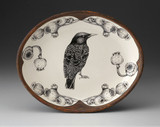 Small Serving Dish: Starling