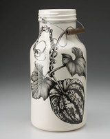 Jug with Handle: Carnival Squash