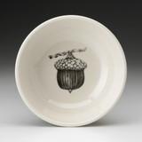 Cereal Bowl: Red Oak Acorn