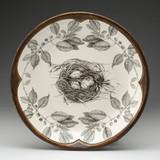 Small Round Platter: Quail Nest