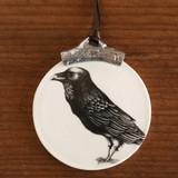 Ornament: Raven