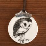 Ornament: Barn Owl