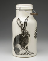 Jug with Handle: Sitting Hare