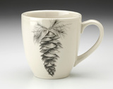 Mug: White Pine Cone