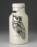 Jug with Handle: Screech Owl #1