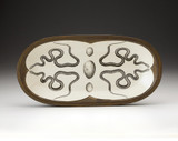 Rectangular Serving Dish: Texas Rat Snake