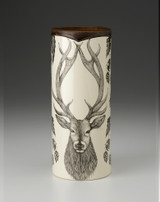 Large Vase: Red Stag