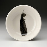 Cereal Bowl: Crow Feather