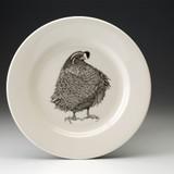 Dinner Plate: Quail #3