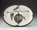 Oval Platter: Acorn Squash