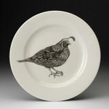 Dinner Plate: Quail #2