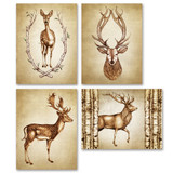 Note Cards: Deer