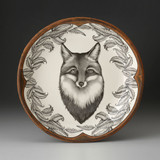 SMALL ROUND PLATTER - Fox 