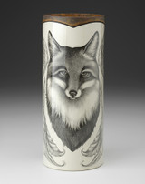 Large Vase: Fox Portrait