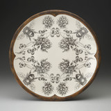 Large Round Platter: Honey Bee