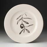 Dinner Plate: Single Olive