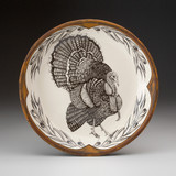 Small Round Platter: Turkey