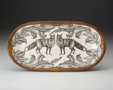 Rectangular Serving Dish: Red Fox