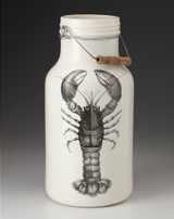 Jug with Handle: Lobster