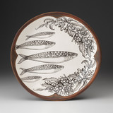 Small Round Platter: Sardines