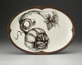 Oval Platter: Turk Gourd