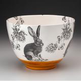 Large Bowl: Sitting Hare