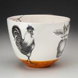 Medium Bowl: Rooster
