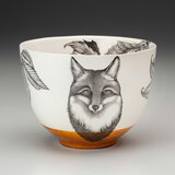 Small Bowl: Fox Portrait