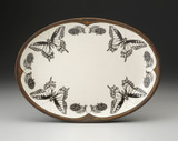 Oval Platter: Swallowtail Butterfly