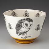 Large Bowl: Barn Owl