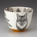 Medium Bowl: Fox Portrait