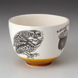 Small Bowl: Screech Owl #2