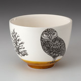 Small Bowl: Burrowing Owl
