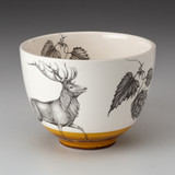 Small Bowl: Red Buck