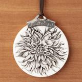 Ornament: Plate Dahlia