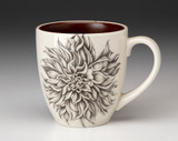 Mug: Plate Dahlia