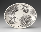 Small Serving Dish: Hummingbird #1
