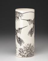 Large Vase: Hummingbird #4