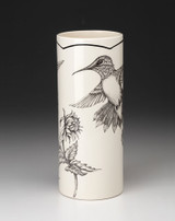 Small Vase: Hummingbird #1