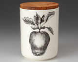 Medium Canister with Lid: Apple