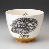 Medium Bowl: Screech Owl #2
