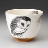 Medium Bowl: Barn Owl