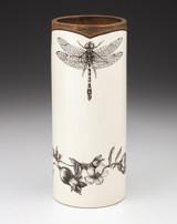 Large Vase: Dragonfly